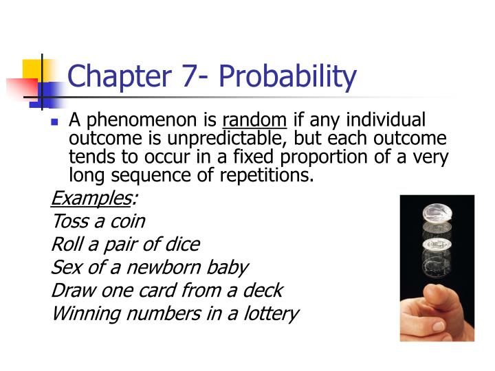 chapter 7 probability n.