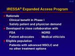iressa expanded access program