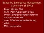 executive emergency management committee eemc