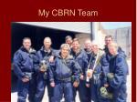 my cbrn team