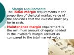 margin requirements