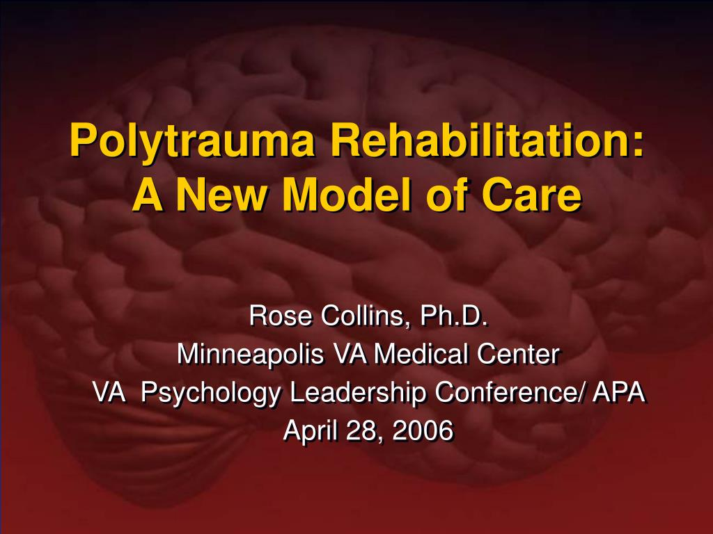 polytrauma rehabilitation a new model of care l.