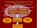 va polytrauma system of care