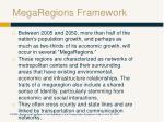 megaregions framework