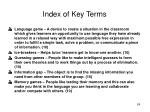 index of key terms