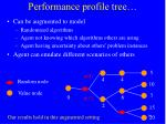 performance profile tree