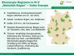 bioenergie regionen in m v nat rlich r gen voller energie