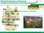 ffentlichkeitsarbeit und beratung fortf hrung wettbewerb bioenergie regionen