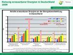 nutzung erneuerbarer energien in deutschland 2009