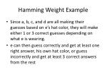 hamming weight example19