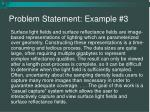 problem statement example 3