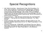 special recognitions23