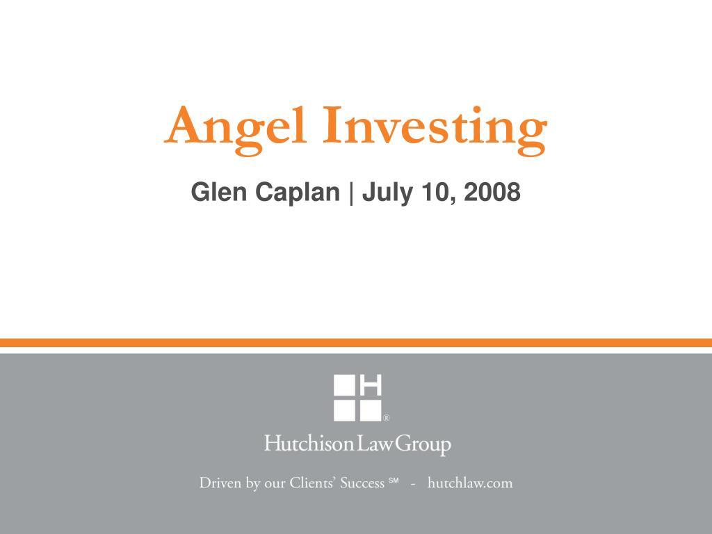 angel investing l.