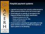 hospital payment systems