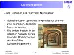 lesemanagement
