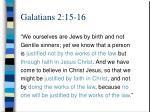 galatians 2 15 16