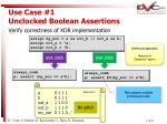 use case 1 unclocked boolean assertions4