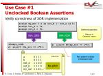 use case 1 unclocked boolean assertions5
