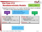 use case 11 nondeterministic models28
