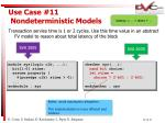 use case 11 nondeterministic models29