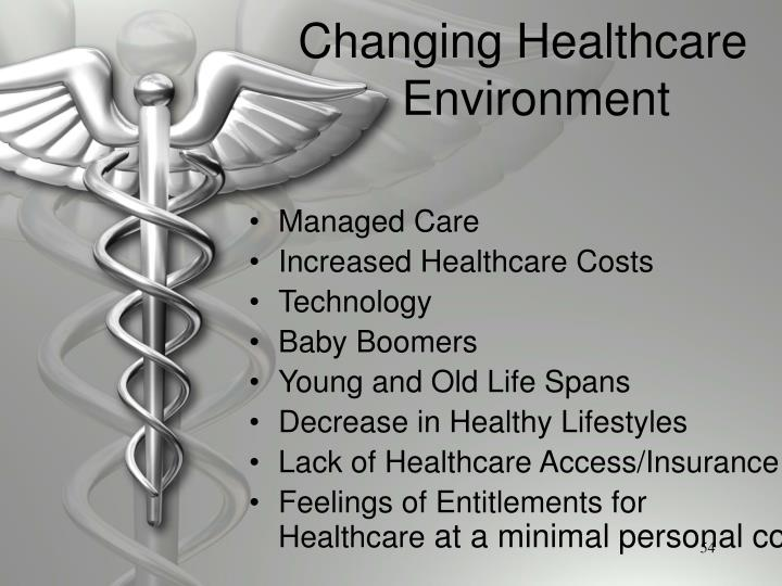 Changing Healthcare