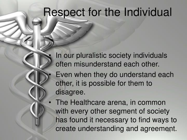 Respect for the Individual