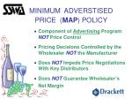 minimum adverstised price map policy