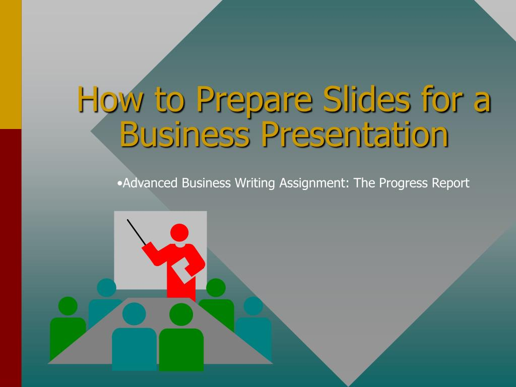 how to prepare slides for a business presentation l.
