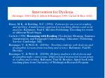 intervention for dyslexia berninger 2000 ldq s abbott berninger 1999 carlisle rice 2004