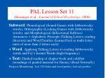 pal lesson set 11 berninger et al journal of school psychology 2006