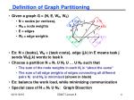 definition of graph partitioning1