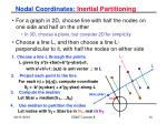 nodal coordinates inertial partitioning