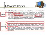 literature review26