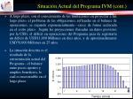situaci n actual del programa ivm cont14