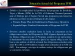 situaci n actual del programa ivm