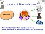 purpose of standardisation40