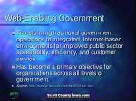 web enabling government
