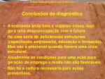 conclus es do diagn stico