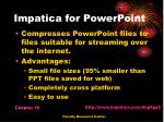 impatica for powerpoint