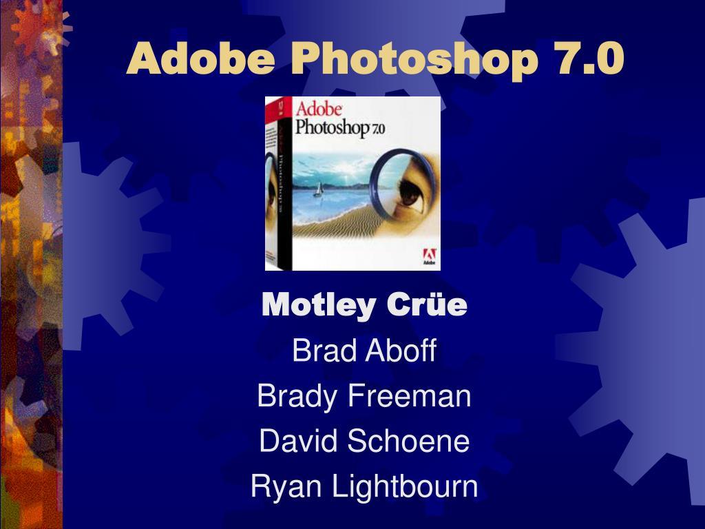 adobe photoshop 7 0 l.