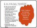 6 el fin del terror