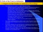 b role of the court in arbitration32