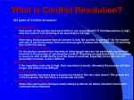 what is conflict resolution6
