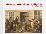 african american religion j l kimmel 1935