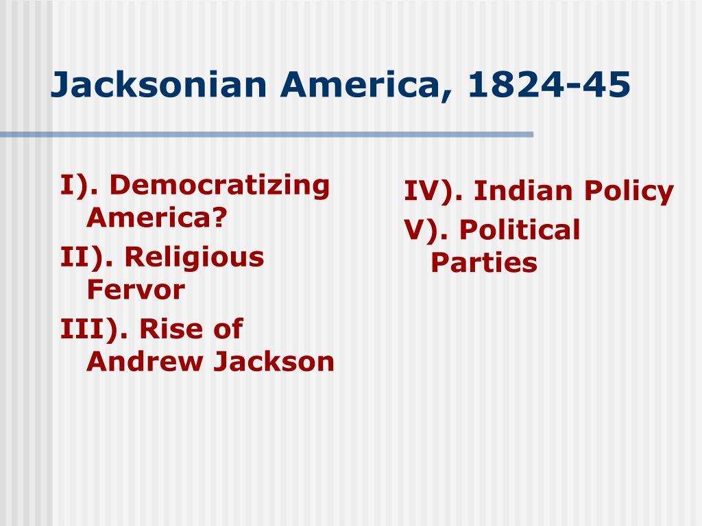 jacksonian america 1824 45 l.