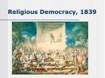 religious democracy 1839