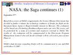 nasa the saga continues 1