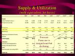 supply utilization milk equivalent fat basis13