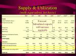 supply utilization milk equivalent fat basis18