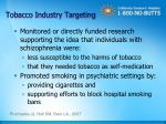 tobacco industry targeting